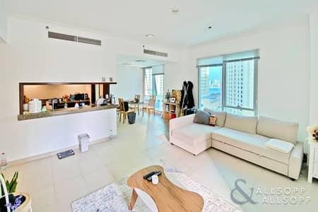 1 Bedroom Apartment for Sale in Dubai Marina, Dubai - 1 Bed | Mid Floor | Marina and Sea View