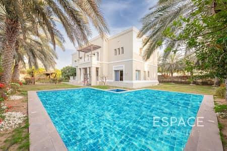 6 Bedroom Villa for Sale in Emirates Hills, Dubai - Exclusive Lake View | Huge Matured Garden