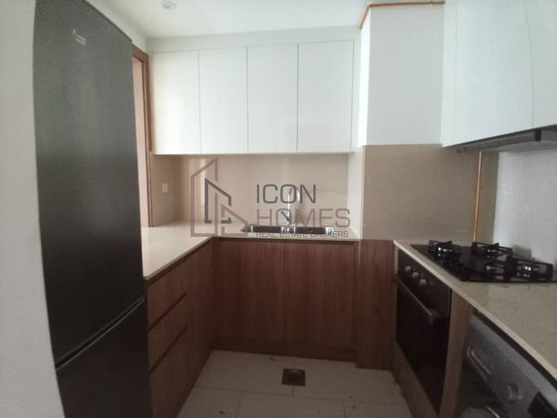 2 GRAB  THE  DEAL  Just 40K Upto 12 Chqs 1BR with Kitchen Appliances in New Bldg