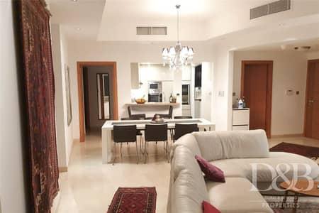 3 Bedroom Apartment for Rent in Dubai Marina, Dubai - Fully Furnished | Spacious | Sea & Marina View