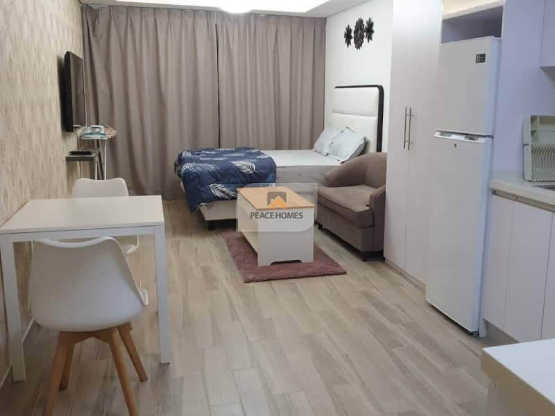 READY TO MOVE | BRAND NEW | FULLY FURNISHED STUDIO | CLASSY LIVING