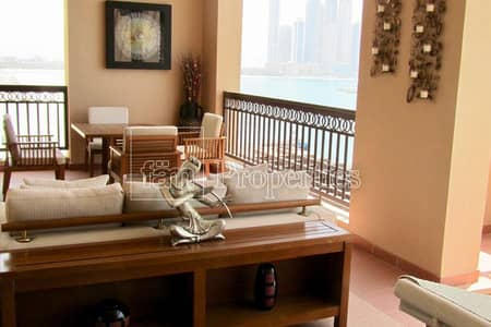 4 Bedroom Apartment for Rent in Palm Jumeirah, Dubai - 4 Bedroom  Amazing Sea View . large terace