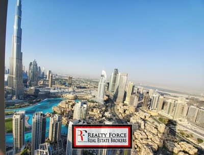 3 Bedroom Flat for Rent in Downtown Dubai, Dubai - HIGH FLOOR | 3BR SKY COLLECTION |BURJ KHALIFA VIEW