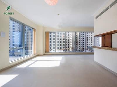 شقة 1 غرفة نوم للبيع في دبي مارينا، دبي - Specious | Large Layout | Pool View | Tenanted