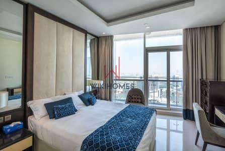 فلیٹ 1 غرفة نوم للايجار في وسط مدينة دبي، دبي - High Floor | Burj Khalifa View | Modern