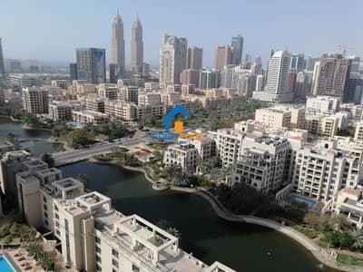 شقة 2 غرفة نوم للبيع في ذا فيوز، دبي - Huge & Nice 2 BHK | Lake & Golf View | Greens & Views ...