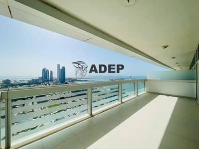 1 Bedroom Flat for Rent in Corniche Road, Abu Dhabi - ZERO COMMISSION /Seaview 1BR with Store