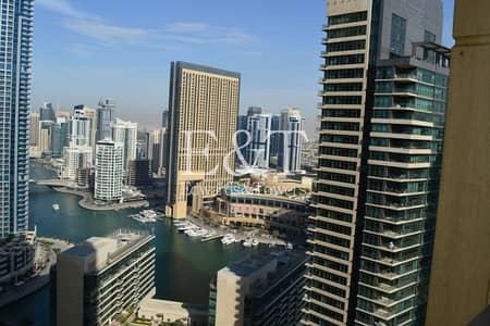 فلیٹ 2 غرفة نوم للبيع في جميرا بيتش ريزيدنس، دبي - Best Price | Marina View | 2BR | High Floor