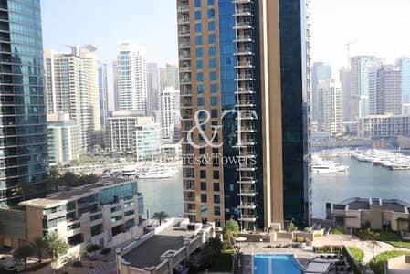 فلیٹ 3 غرف نوم للبيع في جميرا بيتش ريزيدنس، دبي - Marina and Partial Sea View   3BR   Rimal 4   VOT