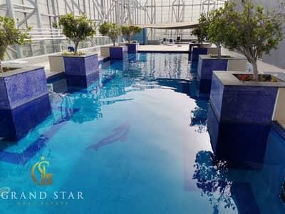 استوديو  للايجار في مدينة دبي الرياضية، دبي - Prestigious Windy Studio Fully Furnished At The  Matrix Tower