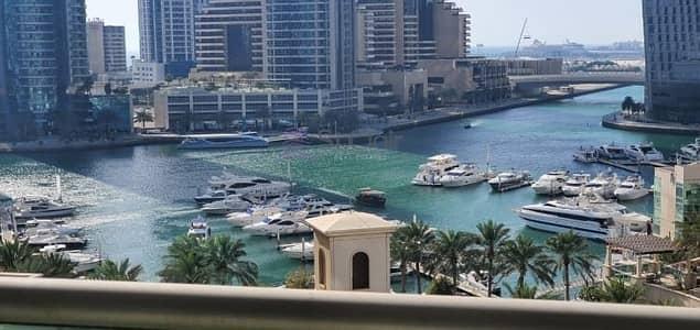 2 Bedroom Apartment for Rent in Dubai Marina, Dubai - Full Marina View /2bed Plus study/ Chiller Free./Dubai Marina