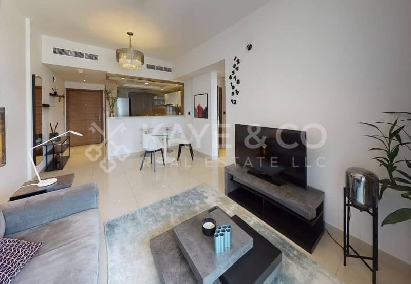 2 1Bedroom | High Quality Furnished | Claren Tower