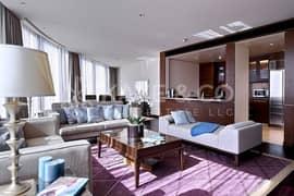 شقة في برج خليفة وسط مدينة دبي 3 غرف 4000000 درهم - 5100117