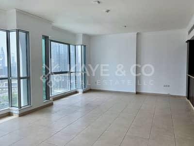 فلیٹ 2 غرفة نوم للايجار في وسط مدينة دبي، دبي - 2 Beds | Vacant | Balcony | Partial Fountain View