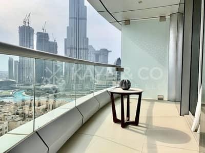 فلیٹ 2 غرفة نوم للايجار في وسط مدينة دبي، دبي - Furnished | 01 Unit | Balcony | Well Maintained
