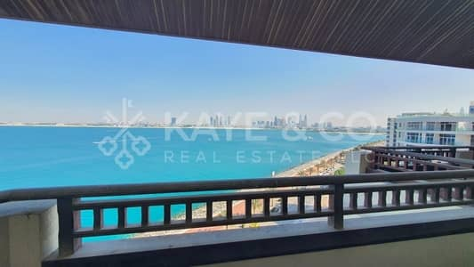 بنتهاوس 4 غرف نوم للبيع في نخلة جميرا، دبي - Shell and Core  Penthouse   Full Sea View  Balcony