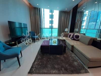 شقة 3 غرف نوم للايجار في وسط مدينة دبي، دبي - Fully Furnished | Spacious Balcony | 3 Bedrooms