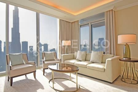 3 Bedroom Flat for Sale in Downtown Dubai, Dubai - Full Burj | Fountain View | Furnished | Balcony