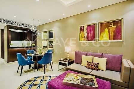 فلیٹ 2 غرفة نوم للايجار في وسط مدينة دبي، دبي - Fully Furnished | Mid Floor  | Downtown View