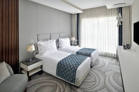 1 Bedroom Apartment for Rent in Downtown Dubai, Dubai - Fully Furnished| Serviced Apartment | Burj View |