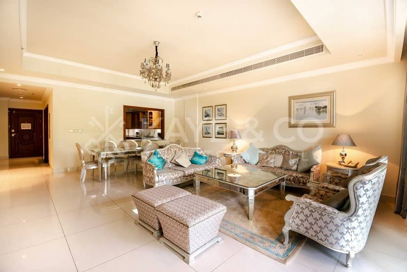3 Bedroom Plus Maid   Super Luxurious   Furnished