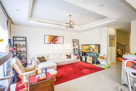 تاون هاوس 4 غرف نوم للبيع في عقارات جميرا للجولف، دبي - 4 BR plus Maids | Corner unit | Community view