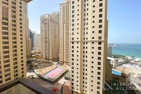 1 Bedroom Apartment for Sale in Jumeirah Beach Residence (JBR), Dubai - Sea View | Bright and Spacious | 1 Bedroom