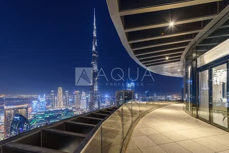 5 Bedroom Flat for Sale in Downtown Dubai, Dubai - Exclusive | 5 Bed Duplex | Above Infinity Pool