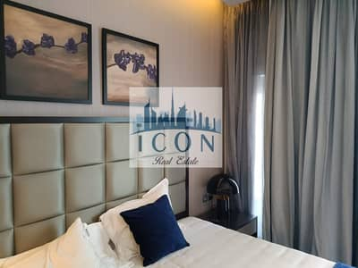 Studio for Rent in Business Bay, Dubai - Fully Furnished Studio/Ready to Move in /Large Balcony/Pool view/Vacant unit