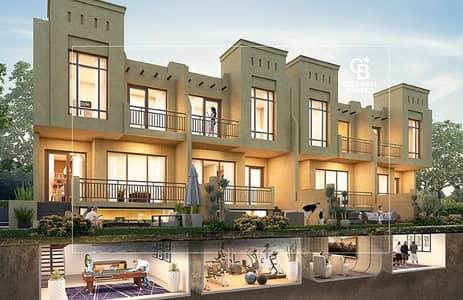 3 Bedroom Townhouse for Sale in Akoya Oxygen, Dubai - Hajar Stone I Water Fountain Villa I 999999 I3Bed
