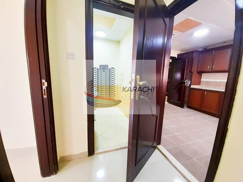 30 Super Offer! Spacious And Elegant Apartment With 01 Master Bedroom And Maid Room Near Khalifa University