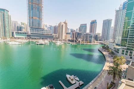 2 Bedroom Flat for Rent in Dubai Marina, Dubai - Marina Lake View 2BR Furnished Apt in Aurora Tower
