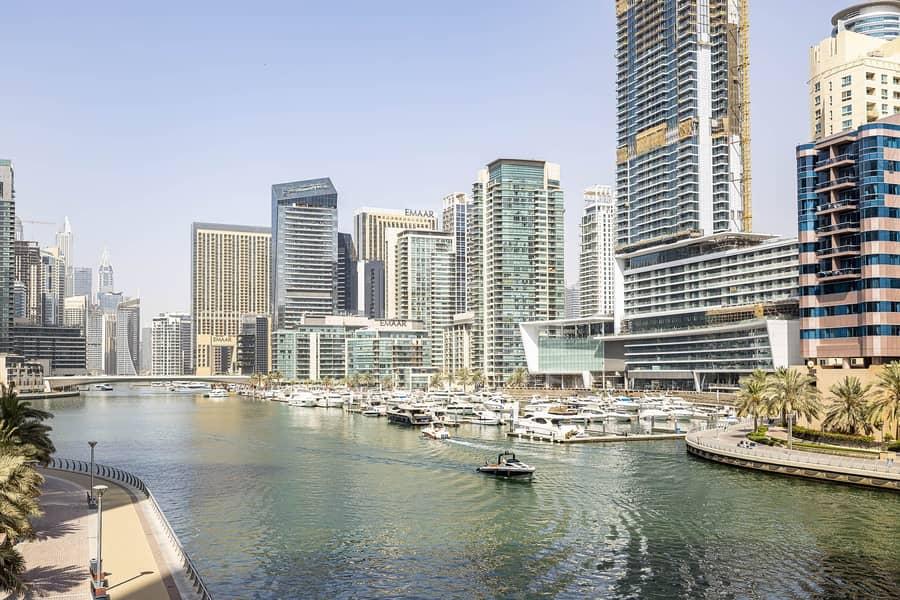 23 Marina and Sea Views | Partly Furnished