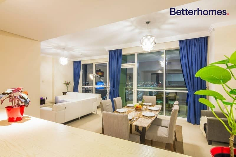 2 Sea View| High Floor|Unfurnished| ShortTerm Rental