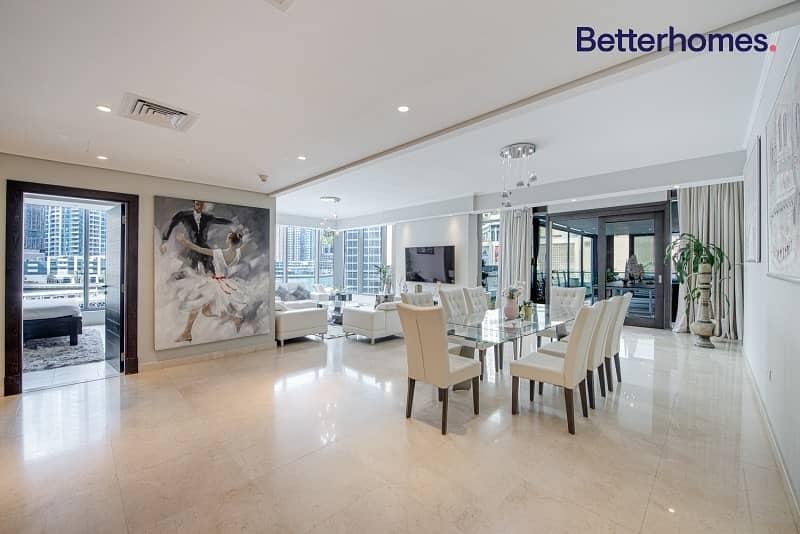 Astonishing Full Marina View| Low Floor |Furnished