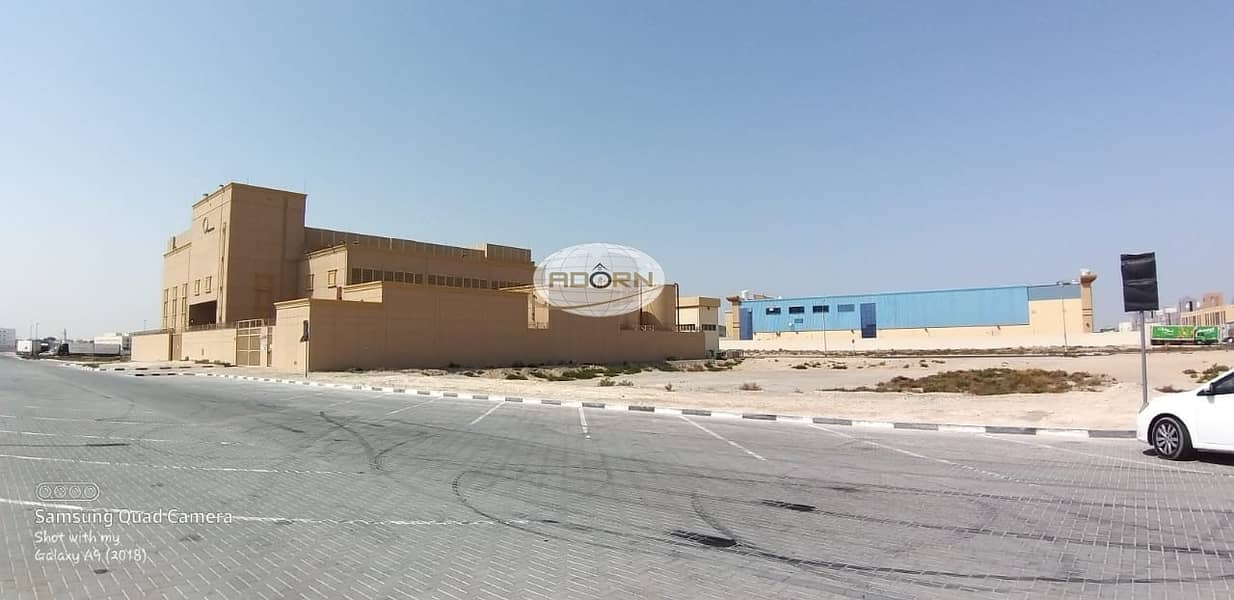 2 40000 sq ft Commercial warehouse land for sale