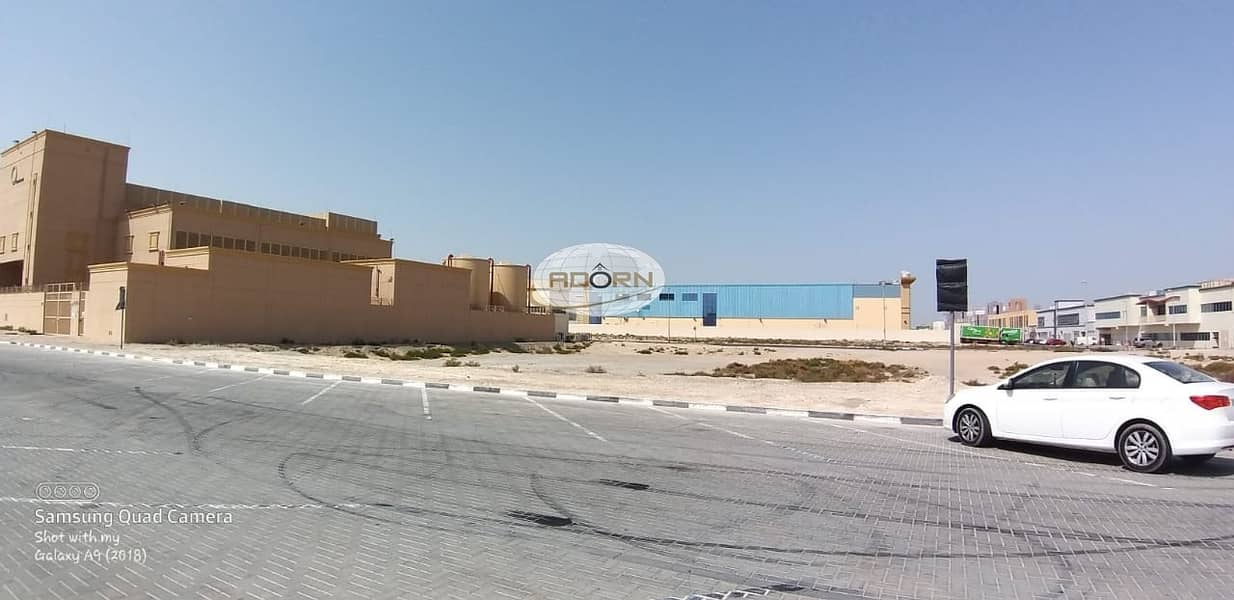 5 40000 sq ft Commercial warehouse land for sale