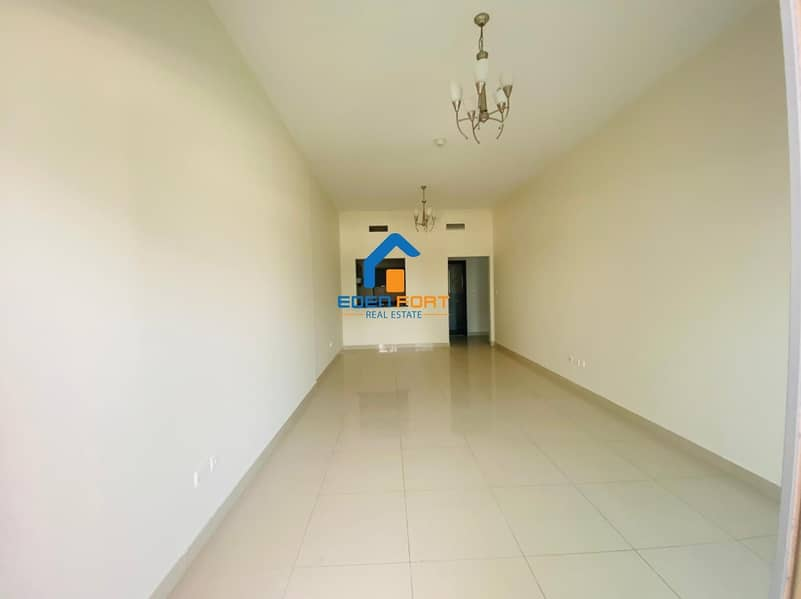 BIG SIZE  UNFURNISHED 1BHK  12 CHEQUES