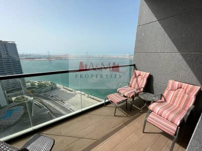 1 Bedroom Flat for Rent in Al Reem Island, Abu Dhabi - FULLY FURNISHED.: One Bedroom Apartment with all Facilities for AED 75