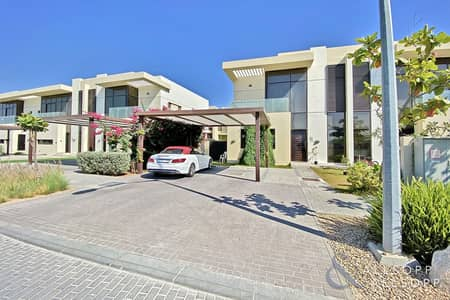 3 Bedroom Townhouse for Rent in DAMAC Hills (Akoya by DAMAC), Dubai - 3 Bedrooms Villa | End Unit | Landscaped