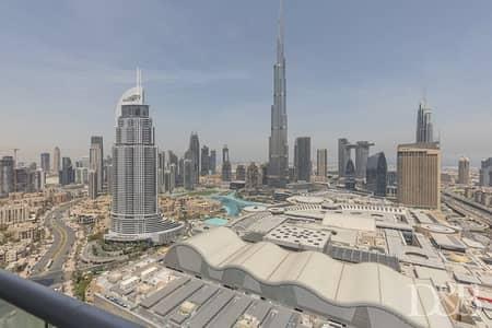 فلیٹ 2 غرفة نوم للايجار في وسط مدينة دبي، دبي - All Bills Included | Burj View | Vacant Now