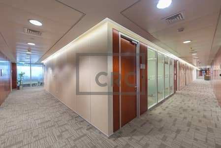 Office for Rent in Sheikh Zayed Road, Dubai - FULL FLOOR| FURNISHED | DEWA CHILLER FREE | METRO