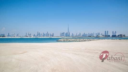 Plot for Sale in Jumeirah, Dubai - Full Sea Private Beach Freehold Villa Plot Jumeirah