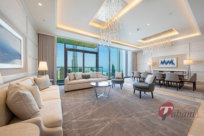 2 Exclusive Penthouse|Breathtaking Burj Khalifa View