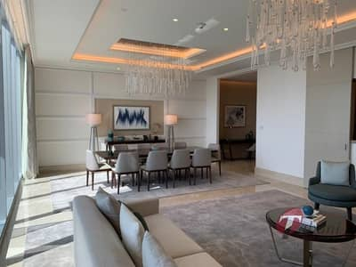 4 Bedroom Hotel Apartment for Rent in Downtown Dubai, Dubai - Exquisite  Sky Collection Penthouse| High Floor