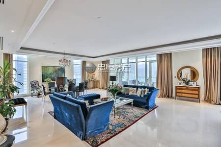 5 Bedroom Penthouse for Sale in Jumeirah Lake Towers (JLT), Dubai - Luxurious Furnishing | Amazing View | Very Spacious