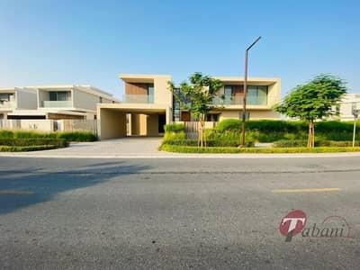 6 Bedroom Villa for Sale in Dubai Hills Estate, Dubai - Corner Villa Type B2 | Burj Khalifa View | Vacant