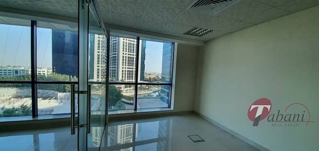 Office for Sale in Jumeirah Lake Towers (JLT), Dubai - Fitted with partition office |Amazing View