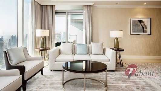 2 Bedroom Flat for Sale in Downtown Dubai, Dubai - Full Burj and Fountain View| Middle unit