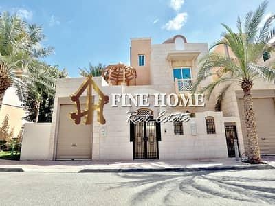 5 Bedroom Villa for Sale in Al Mushrif, Abu Dhabi - For Sale Villa | 5 Master rooms | Terrace| Maid's |